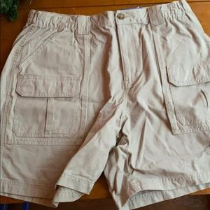 Men's Khaki shorts- never worn with tags